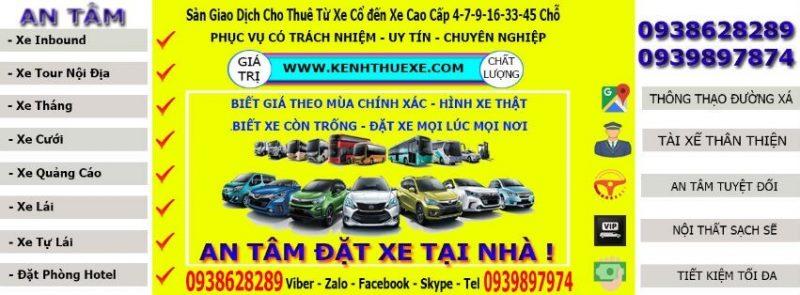 banner Kenh Cho Thue xe Du Lich co bang gia xe 4 7 16 29 35 45 cho tai Tp hcm-Hanoi-Da Nang-Nha Trang-Mui ne-Da Lat-Phu Quoc-Can Tho-Vung Tau-Binh Duong-Long An-Tien Giang